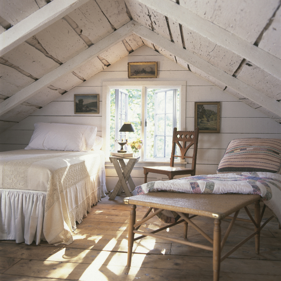 interior-bright-attic-rooms-with-cozy-bedroom-and-small-lamp-also-wooden-chair-ideas-wonderful-modern-attic-rooms-design-ideas